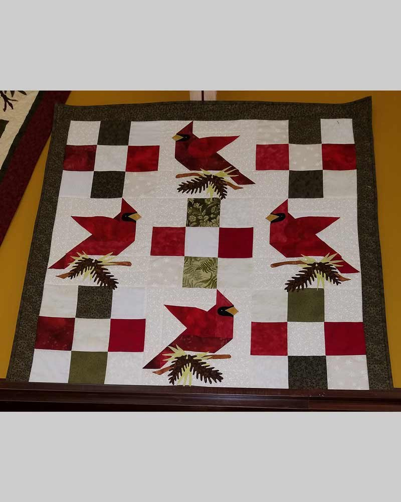 Winter's Song Wall Hanging Quilt Kit
