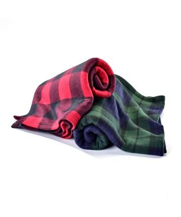 Buffalo Check Fleece Blanket