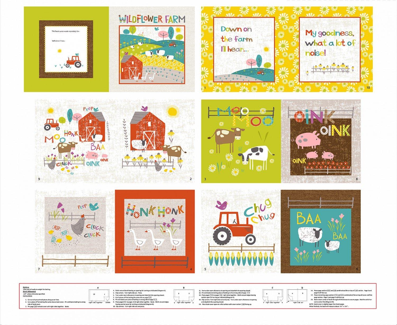 Wildflower Farm Soft Book Panel