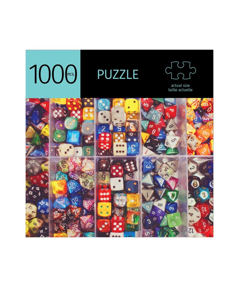 Dice Design Puzzle, 1000 Pieces