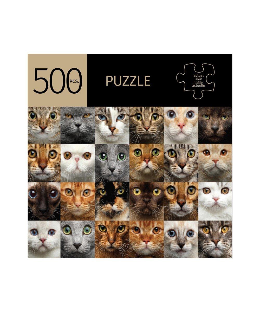 Cats Design Puzzle, 500 Pieces