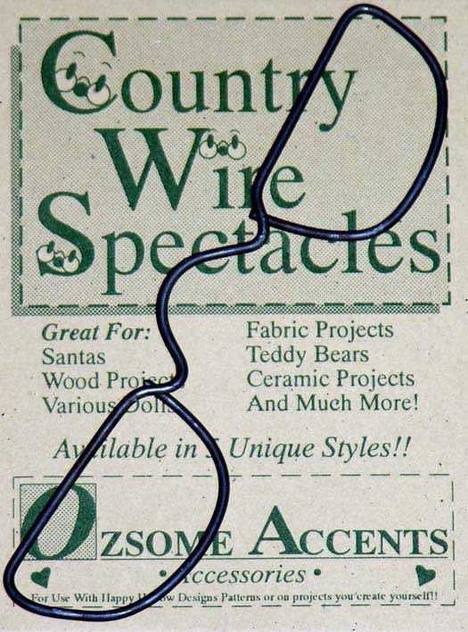 Half Moon Country Wire Spectacles