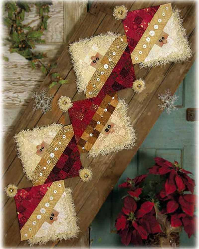 Button Santa Fabric Kit - 6310000000004