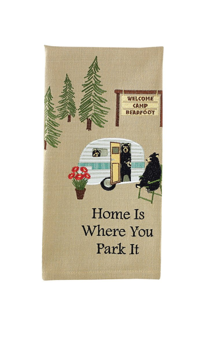 Home Is Where You Park It Hand Towels