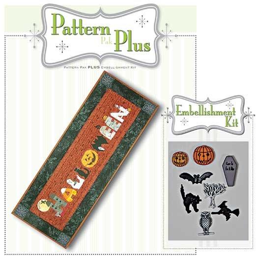 Happy Halloween Runner Pattern Pak Plus
