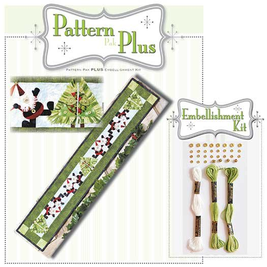 Jingle Bell Rock Pattern Plus Accessory Kit