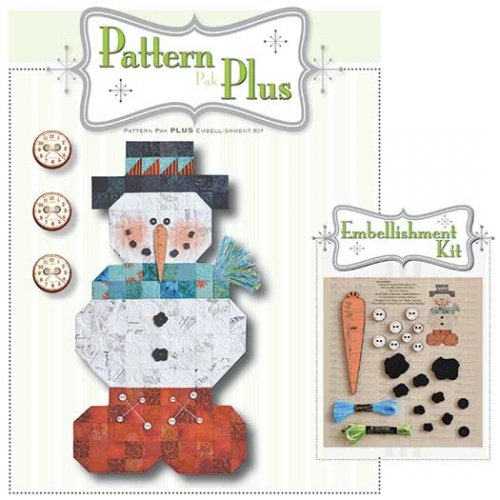 Roly Poly Snowman Pattern Plus Complete Kit