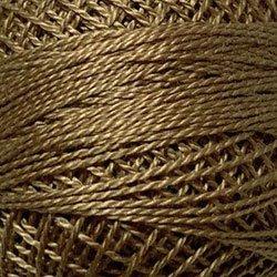 Valdani 12wt Pearl Cotton Solid - Antique Gold Medium