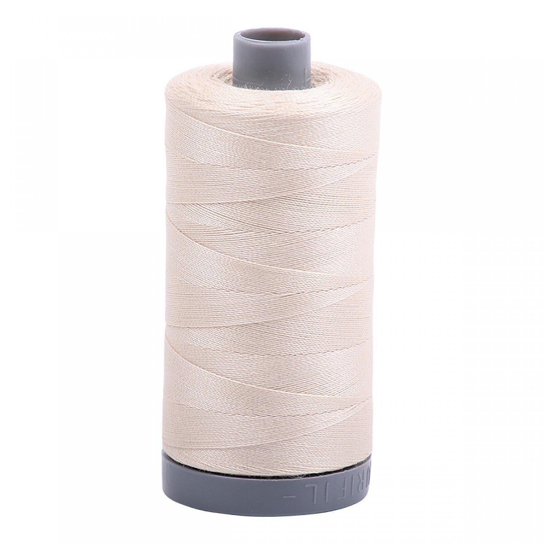 Mako Cotton Embroidery Thread 28wt 820yds - Light Beige