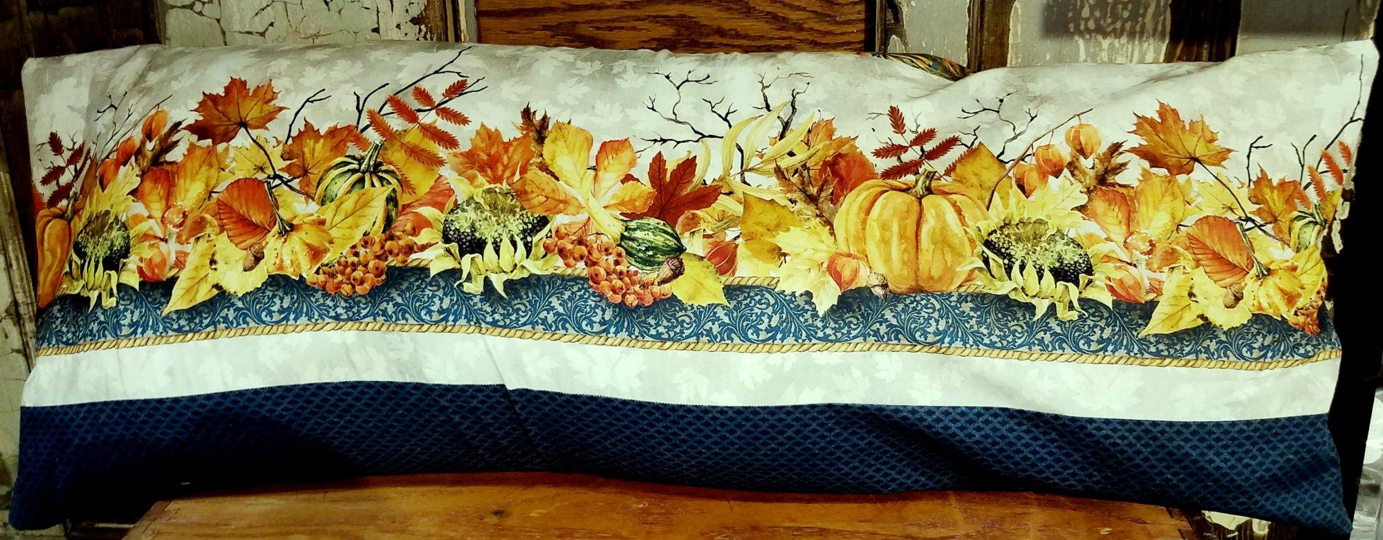 Autumn Border Bench Pillow Kit