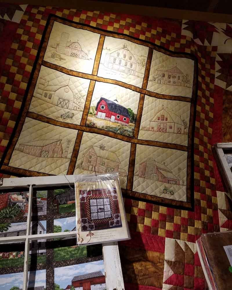 For the Love of Barns Kit with Pattern