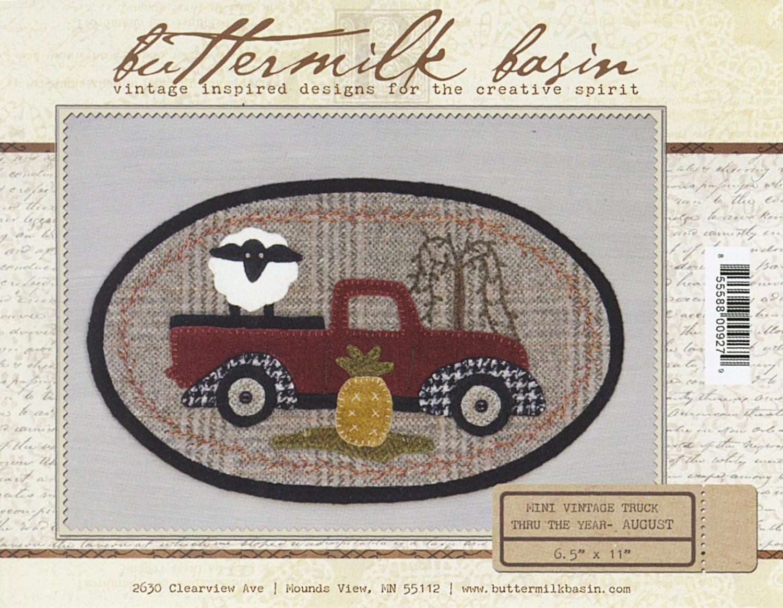 Mini Vintage Truck Thru the Year - August