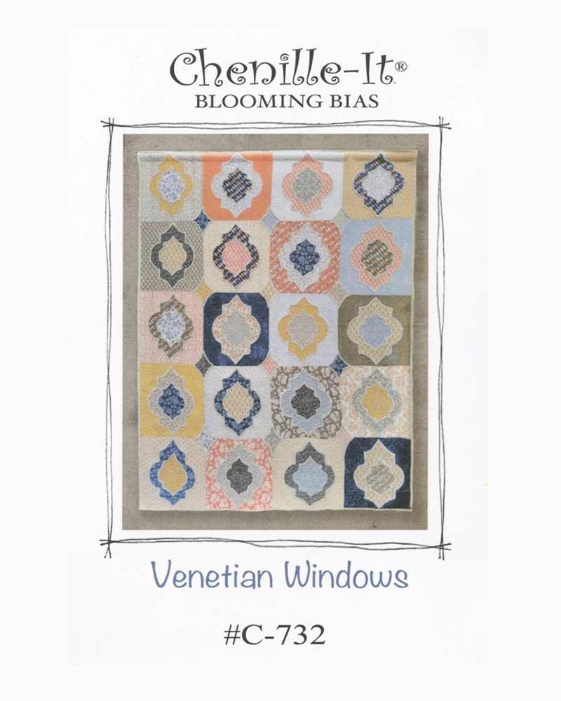 Venetian Windows Quilt Pattern