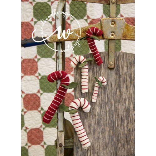 Candy Cane Ornies Large Kit -  Makes 2 (No Pattern)