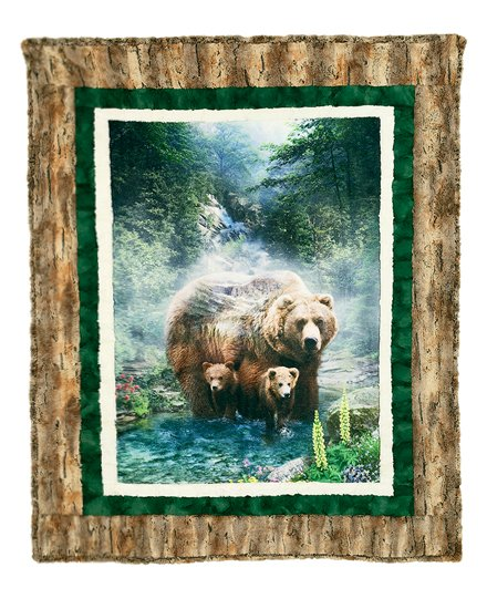 Borderline Cuddle Kit - Brother Bear - 51in x 62in