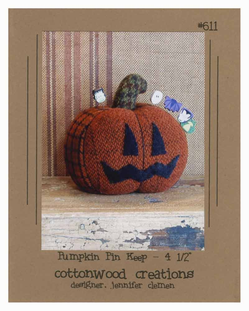 Pumpkin Pin Keep Wool Pattern