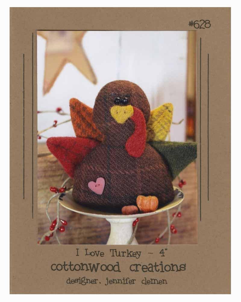 I Love Turkey Wool Pattern