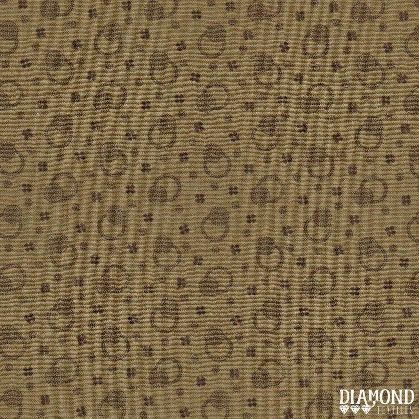 A Common Thread - Dots and Blooms - Beige