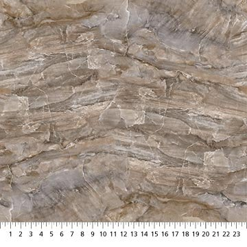 Swept Away - Marble 1 - Brown