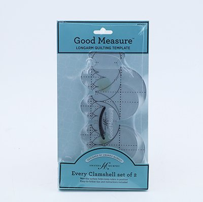 Every Clamshell Ruler Set of 2