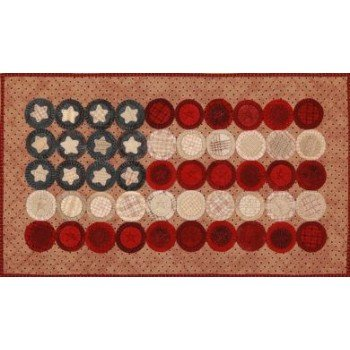 Flag Day Penny Banner Wool Kit with Pattern