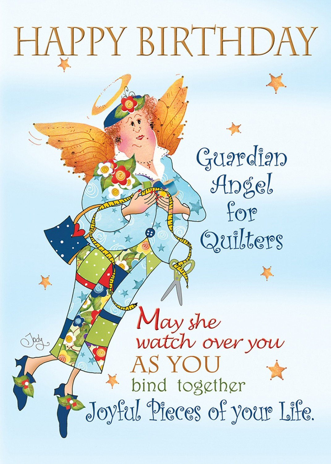 Birthday Card - Guardian Angel