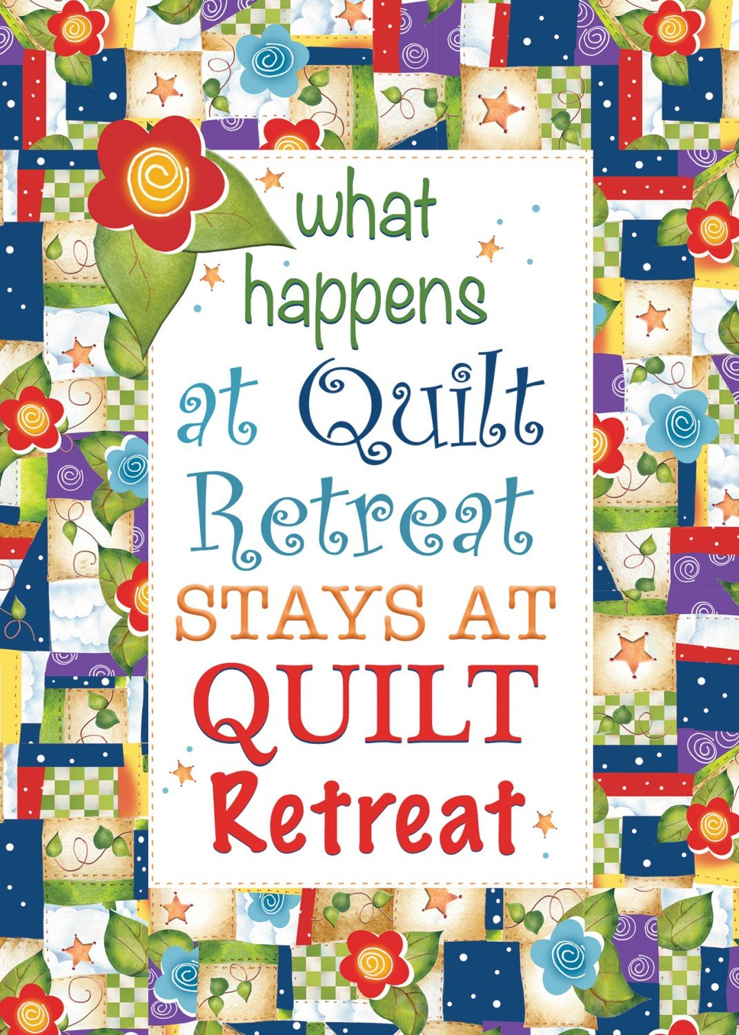 Quilt Retreat Greeting Card