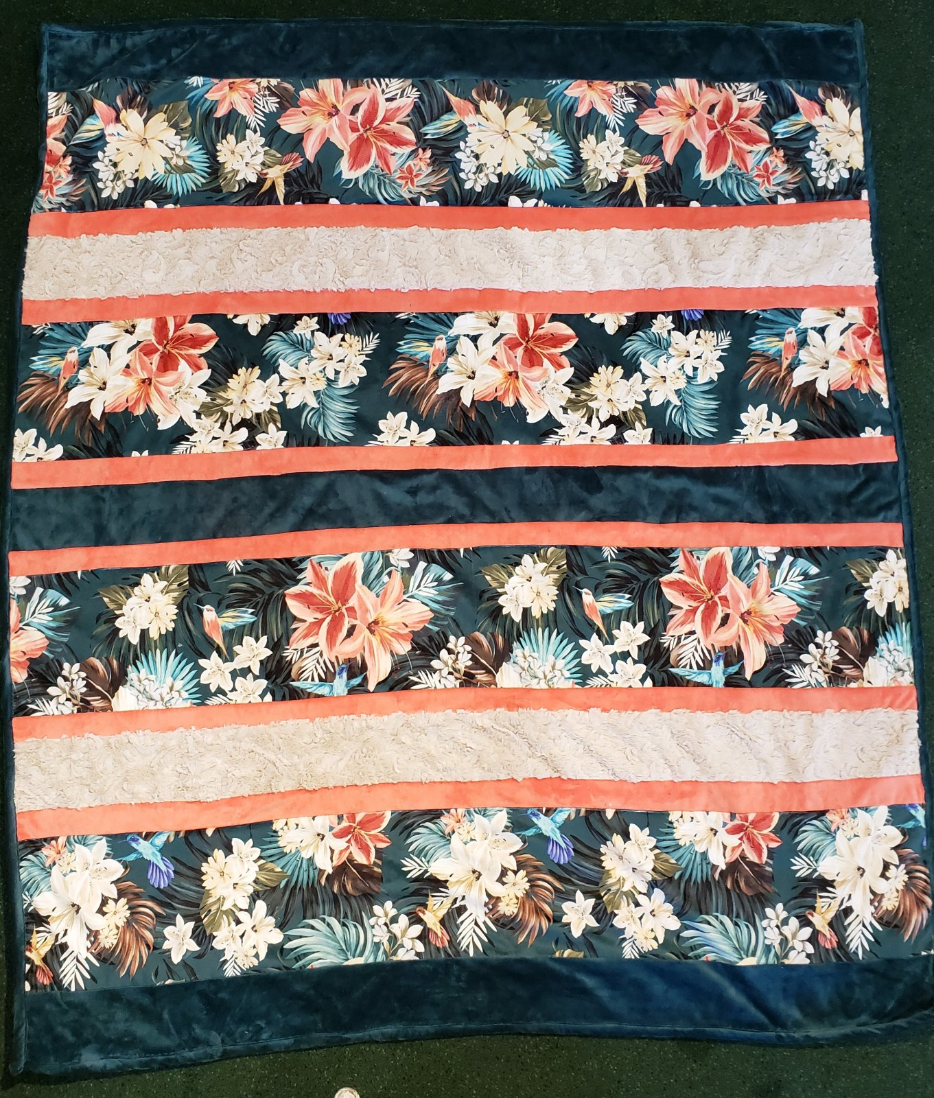 Hawaiian Crazy 8 Cuddle Quilt Kit