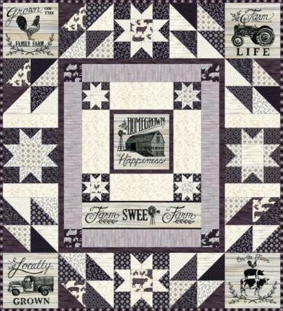 Homegrown Quilt Kit 51 x 56