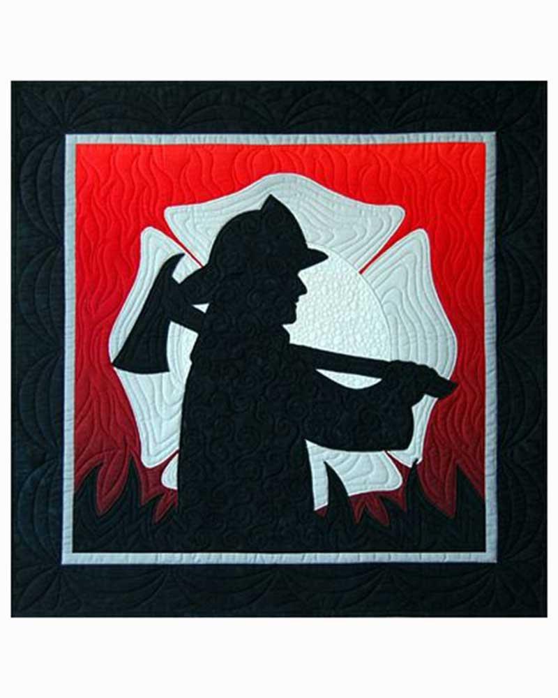 Firefighter Quilt Pattern