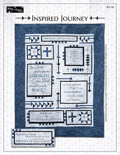 Inspired Journey Quilt Kit 54 x 69