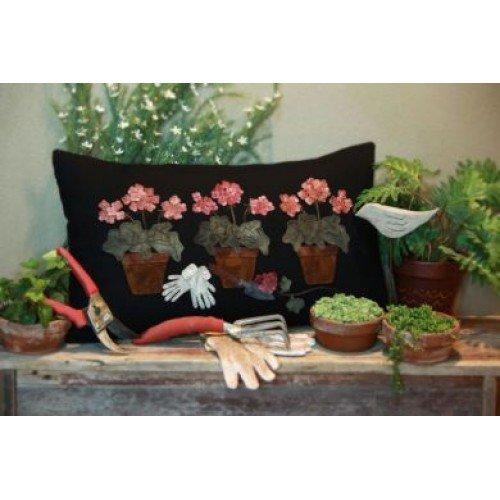 Potted Geranium Pillow Kit