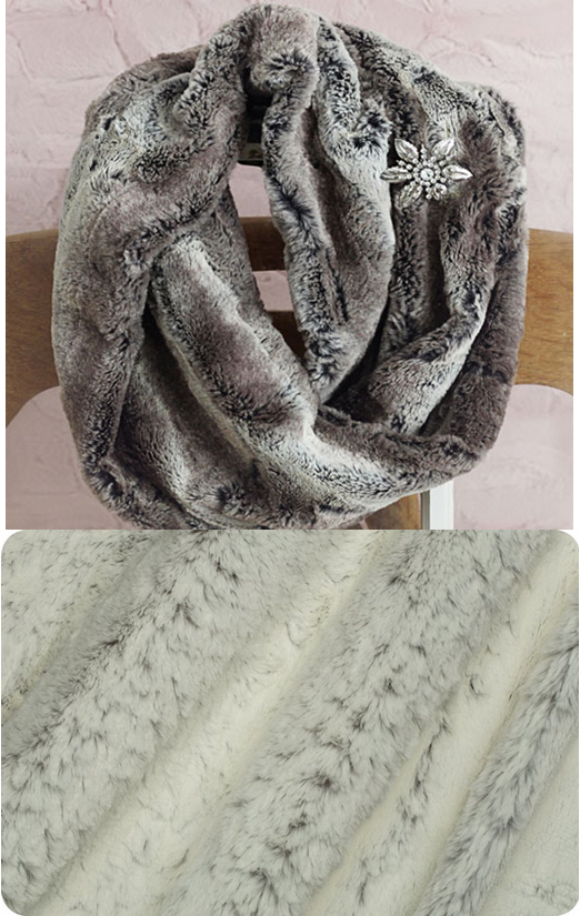 Infinity Scarf Kit - Silver Frost