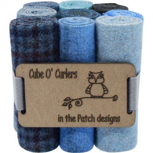 Cube O' Curlers Wool Pack - Blues