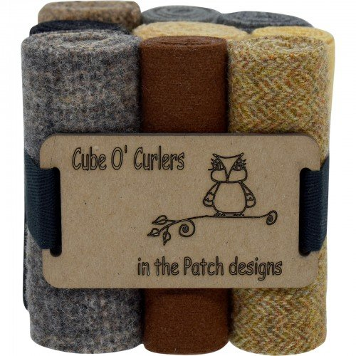 Cube O' Curlers Wool Pack - Critters