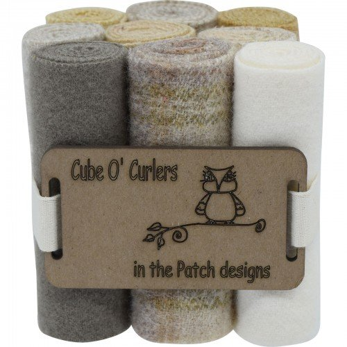 Cube O' Curlers Wool Pack - Neutrals