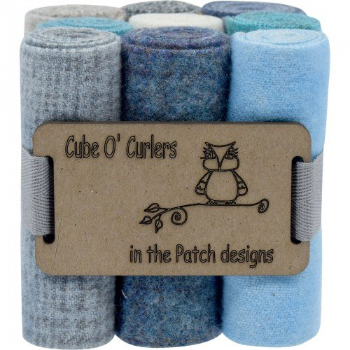 Cube O' Curlers Wool Pack - Oceans And Lakes