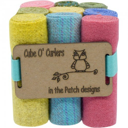 Cube O' Curlers Wool Pack - Pastels