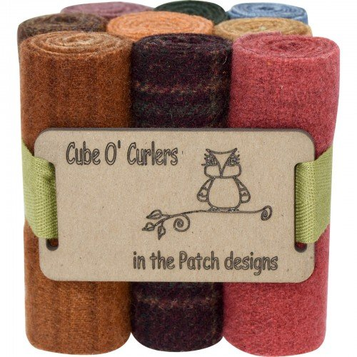 Cube O' Curlers Wool Pack - Primitive