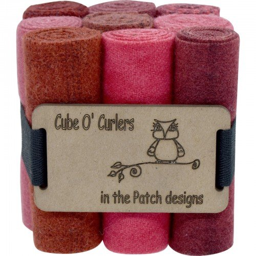 Cube O' Curlers Wool Pack - Reds