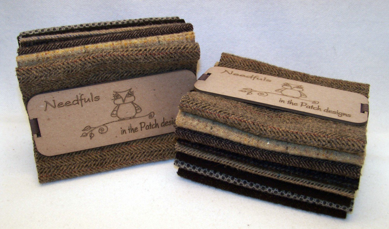 Woolen Needfuls - Black and Tan