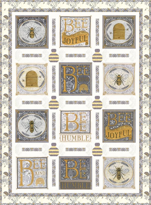 Bee Joyful Kit 44 x 60