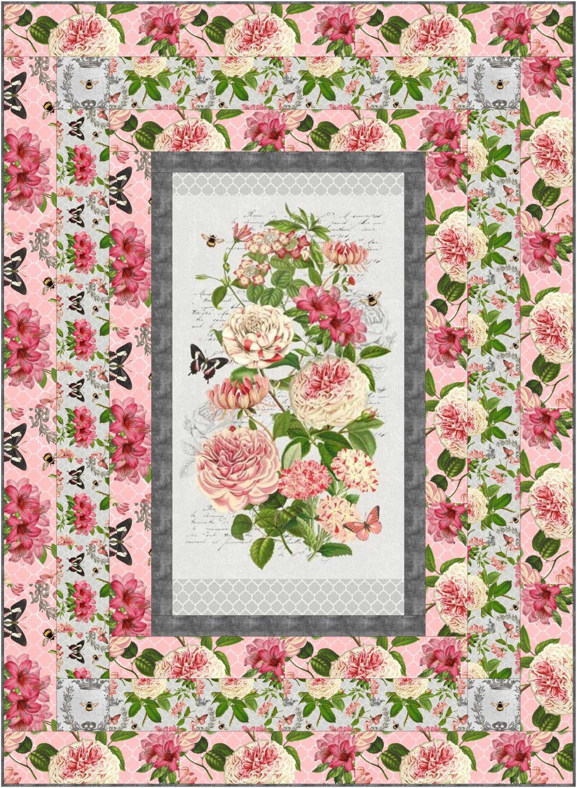Le Bouquet Simple Panel Throw Kit
