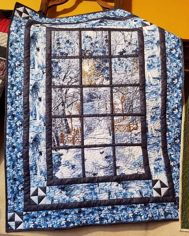Alpine Retreat Quilt Kit with Pattern