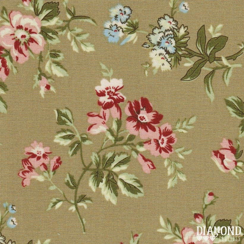 A Common Thread - Main Floral - Beige