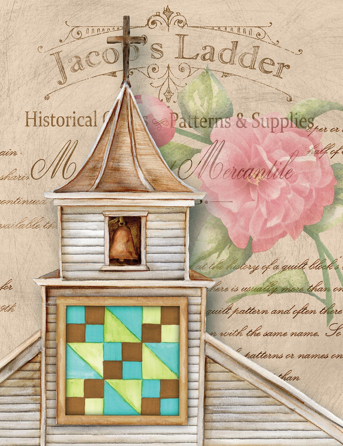 Note Cards - Quilt Church Jacobs Ladder Package of 8