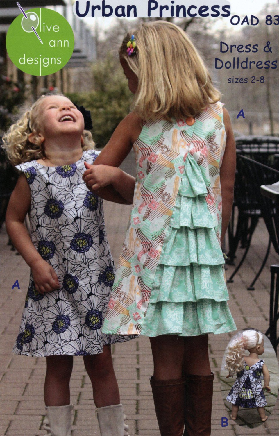 Urban Princess Dress and Doll Dress Pattern