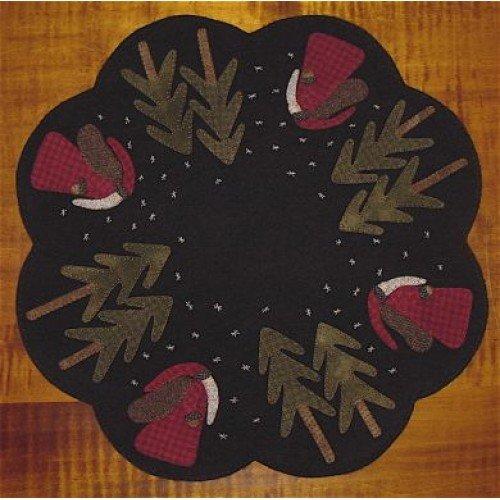 Old Saint Nick Table Mat Pattern