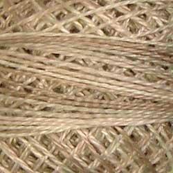 Valdani 12wt Pearl Cotton Variegated - Aged White Light