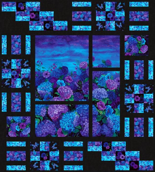 Panel Encore - Misty Midnight Kit - 64 x 71
